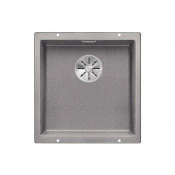 Мойка Blanco SUBLINE 400-U SILGRANIT отводная арматура InFino®